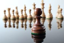 Free Pawn In Front Royalty Free Stock Image - 20925326