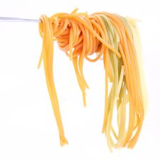 Free Spaghetti On Fork Royalty Free Stock Photography - 20925827