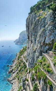 Free Paradise Island Of Capri Stock Photography - 20925982