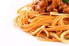 Free Spaghetti Bolognese Stock Photography - 20926662