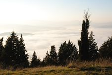 Free Landscape Over The Fog Royalty Free Stock Photo - 20926725