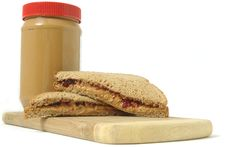 Free Peanut Butter And Jelly Sandwich Stock Photos - 20927643