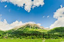 Free Mountain Landscape Royalty Free Stock Image - 20928856