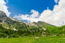 Free Mountain Landscape Royalty Free Stock Photos - 20928888