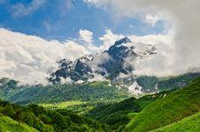 Free Mountain Landscape Royalty Free Stock Image - 20928996