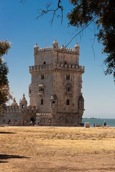 Free Tower Of Belem In Portugal Stock Image - 20929021