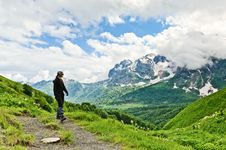 Free Mountain Landscape Royalty Free Stock Photo - 20929025