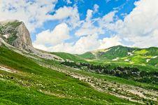 Free Mountain Landscape Royalty Free Stock Photo - 20929055