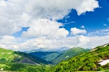 Free Mountain Landscape Royalty Free Stock Photography - 20929117