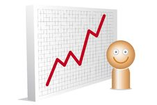 Free Happy Man With Chart Stock Photos - 20929143