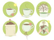 Free Earth Coffee And Tea Royalty Free Stock Photo - 20929505