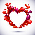 Free Love Heart Background. Royalty Free Stock Photos - 20933808