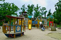 Free Children Playground In The Park Royalty Free Stock Image - 20935046
