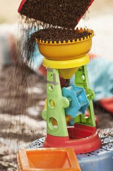 Free Toys  And   Sand Royalty Free Stock Photography - 20930157