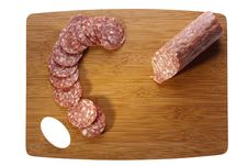 Free Salami Meat Royalty Free Stock Photography - 20930447
