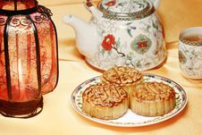 Free Moon Cake Stock Photography - 20930492