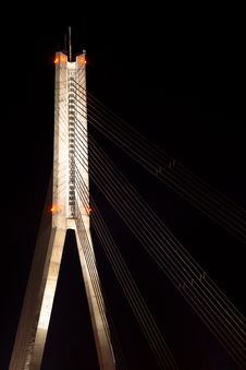 Free Cable-stayed Bridge Royalty Free Stock Photos - 20930598