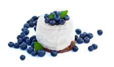 Free Blueberry Cake Stock Photos - 20930803