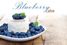 Free Blueberry Cheesecake Royalty Free Stock Photos - 20930828