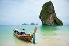 Free Longtail Boat In Thailand Stock Image - 20931111