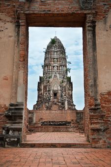 Free Temple In Ayutthaya Royalty Free Stock Photos - 20931118