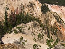 Free Steep Canyon In Wyoming Royalty Free Stock Photo - 20931255