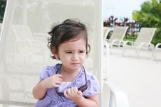 Free Cute Toddler Girl In Summer Royalty Free Stock Photos - 20931448