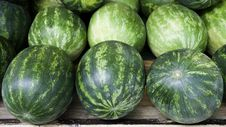 Free Water Melon In The Market Stock Images - 20931694