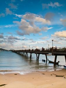 Free Beach And Pier Stock Photos - 20931783