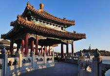Free The Beihai Park Five-Dragon Pavilion,Beijing Stock Photos - 20931953