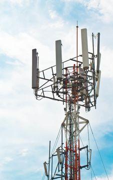 Free Telephone Poles Royalty Free Stock Photo - 20932135