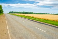 Free Field And Road Royalty Free Stock Images - 20932149