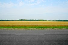 Free Field And Road Stock Images - 20932314