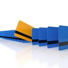 Free Unique Credit Card Stock Image - 20932521