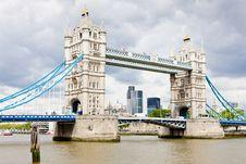 Free Tower Bridge Royalty Free Stock Photography - 20933517