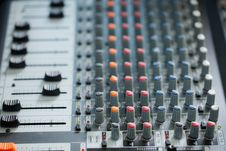 Free Sound Mixer Stock Photo - 20933580