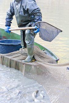 Detail Of Fisherman Royalty Free Stock Images