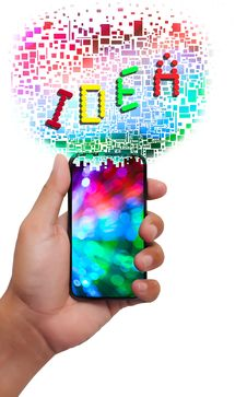 Free Idea Smart Phone Royalty Free Stock Image - 20933786