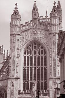 Free Bath Abbey, England Stock Photo - 20934530
