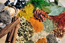 Free Spices Royalty Free Stock Image - 20936736
