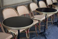 Free Cafe Tables, Paris Stock Image - 20937291