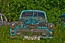 Free Abandoned Cars Stock Image - 20937651