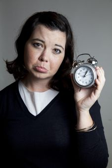 Free Unhappy About Time Royalty Free Stock Image - 20937936