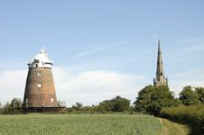 Free Thaxted Windmill Stock Image - 20938221