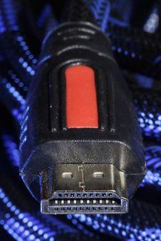 HDMI Plug & Socket Stock Image
