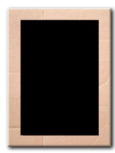 Free Brown Corrugated Cardboard Photo  Frame Stock Photo - 20938860