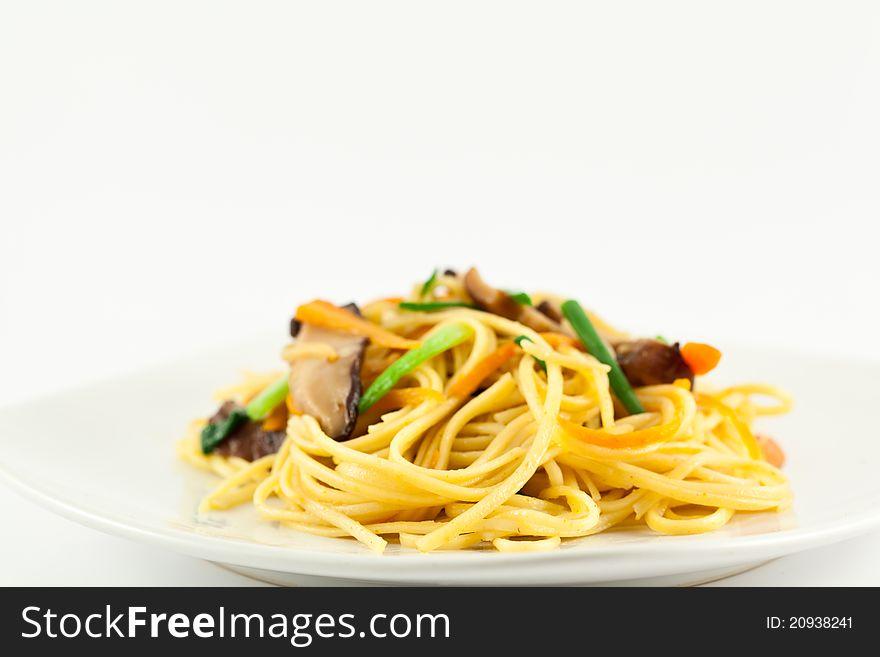 Stir fried noodles