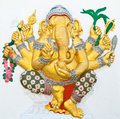 Free Indian Or Hindu Ganesha God Named Vighna Ganapati Royalty Free Stock Images - 20947889