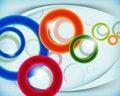 Free Multicolor Circular Design Background Stock Image - 20949311