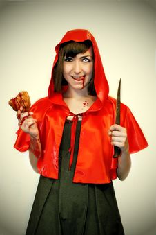 Free Little Red Riding Hood Stock Photo - 20940420